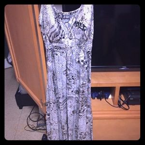 Very Silver and Black dress